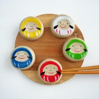 だるま 5個 箸置きセット(テーブル用品)