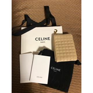 セリーヌ(celine)の【新品未使用】Cチャーム セリーヌ ミニ財布 コインケース(コインケース)