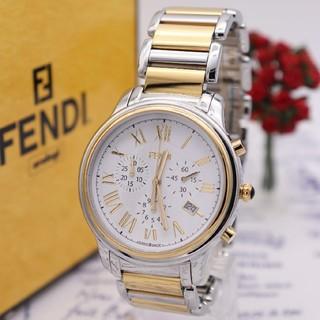 フェンディ(FENDI)の未使用品【新品電池】FENDI 25200G/クロノグラフ ニュークラシコ(腕時計(アナログ))