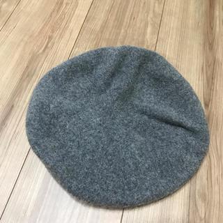 カスタネ(Kastane)のKastane グレーベレー帽(ハンチング/ベレー帽)