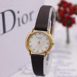 クリスチャンディオール(Christian Dior)の正規品【新品電池】ChristianDior/D58-121-2 ダイヤ12P(腕時計)