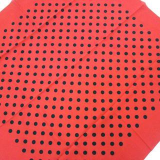 ラルフローレン(Ralph Lauren)のラルフローレン スカーフ美品  - ドット柄(バンダナ/スカーフ)