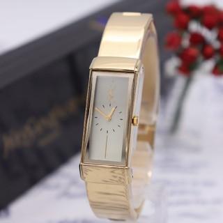 サンローラン(Saint Laurent)の正規品【新品電池】YvesSaintLaurent/5421 動作品 バングル(腕時計)