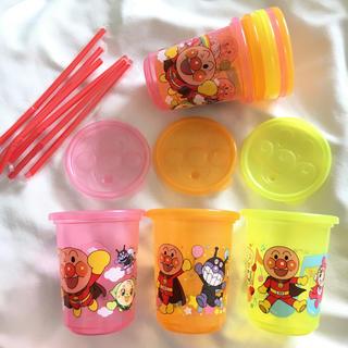 アンパンマン(アンパンマン)のアンパンマン ストローコップ 6個セット(マグカップ)