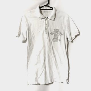 ディーゼル(DIESEL)のディーゼル 半袖ポロシャツ サイズXS 白(ポロシャツ)