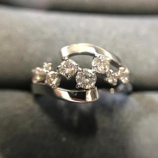 pt900 ダイヤモンドリング 0.55ct(リング(指輪))