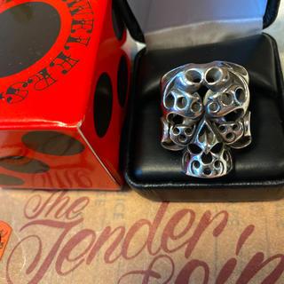 テンダーロイン(TENDERLOIN)の希少品! テンダーロイン  ボルネオスカル BS リング 指輪 シルバー 925(リング(指輪))