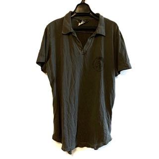 ディーゼル(DIESEL)のディーゼル 長袖ポロシャツ サイズM メンズ(ポロシャツ)