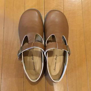 サマンサモスモス(SM2)のサマンサモスモス sm2 tストラップシューズ 合皮革靴(ローファー/革靴)