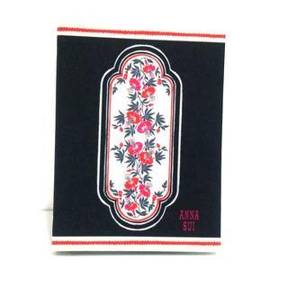 アナスイ 小物美品  - 黒×白×マルチ
