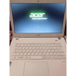 エイサー(Acer)のACERノートPC [プラチナホワイト](ノートPC)