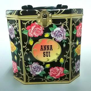 アナスイ(ANNA SUI)のアナスイ 小物入れ - 黒×ピンク×マルチ(その他)