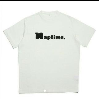 トリプルエー(AAA)のnaptime Tシャツ ホワイト L(Tシャツ/カットソー(半袖/袖なし))