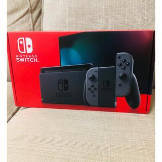 Switch 任天堂スイッチ 本体 グレー  ニンテンドウ(家庭用ゲーム機本体)