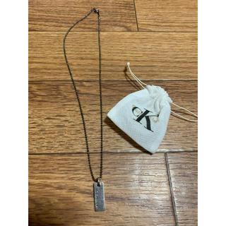 カルバンクライン(Calvin Klein)のckネックレス(ネックレス)