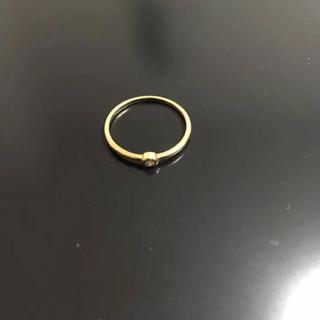 ユナイテッドアローズ(UNITED ARROWS)の【値下げ】アローズ 10K ダイヤモンドリング(リング(指輪))