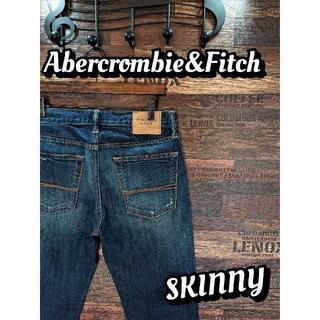 アバクロンビーアンドフィッチ(Abercrombie&Fitch)のアバクロンビー&フィッチ♪スキニー♪ウエスト約80cm♪1710B(デニム/ジーンズ)