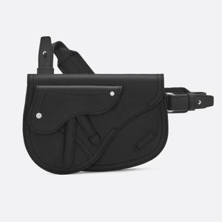 クリスチャンディオール(Christian Dior)の【専用】Dior Homme saddle サドルバッグ  メッセンジャー 黒 (ショルダーバッグ)