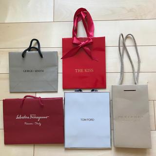 バーバリー(BURBERRY)のブランド紙袋(バーバリー、フェラガモなど)(ショップ袋)