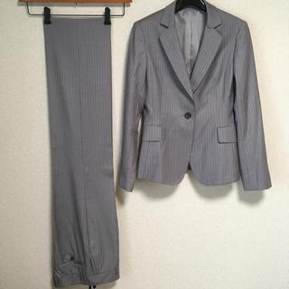 ユナイテッドアローズ(UNITED ARROWS)のユナイテッドアローズ パンツスーツ M W74 グレー OL DMW(スーツ)