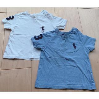 POLO RALPH LAUREN - 80ラルフローレンTシャツ2枚組