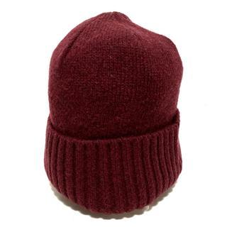 パタゴニア(patagonia)のパタゴニア ニット帽 ALL美品  ボルドー(ニット帽/ビーニー)