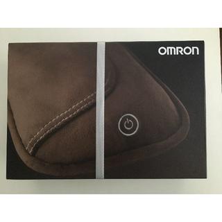 オムロン(OMRON)のクッションマッサージャー オムロンHM-341-BW(色:ブラウン)(ボディマッサージグッズ)