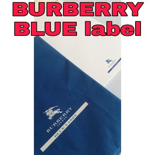 バーバリーブルーレーベル(BURBERRY BLUE LABEL)のレア 非売品 バーバリーブルーレーベル 便箋 BURBERRY 文具 ノート (ノート/メモ帳/ふせん)