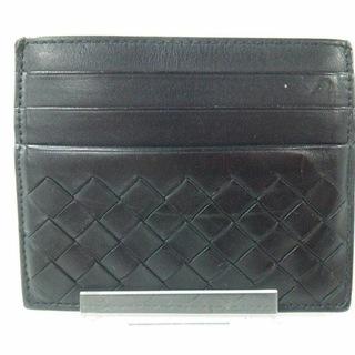 ボッテガヴェネタ(Bottega Veneta)のボッテガヴェネタ カードケース 162150 黒(名刺入れ/定期入れ)