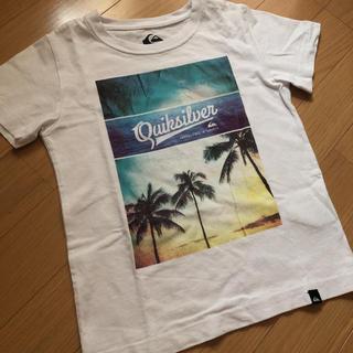 クイックシルバー(QUIKSILVER)のクイックシルバー 半袖 Tシャツ 120  サーフ ビーチ(Tシャツ/カットソー)