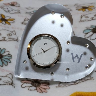ウェッジウッド(WEDGWOOD)のWEDGWOOD ブリスタイム(置時計)