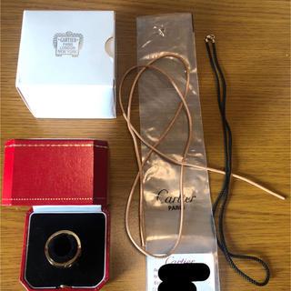 カルティエ(Cartier)のカルティエ アストロラブリング サイズ58(リング(指輪))