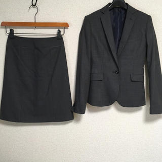 オリヒカ(ORIHICA)のオリヒカ スカートスーツ 5 W 62 グレー 春夏 OL DMW(スーツ)