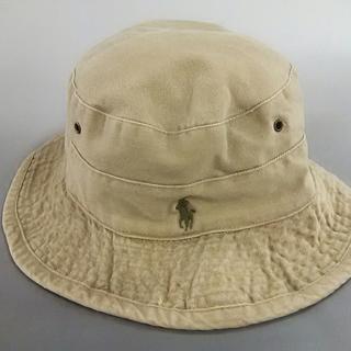 ポロラルフローレン(POLO RALPH LAUREN)のポロラルフローレン 帽子 LARGE ベージュ(その他)