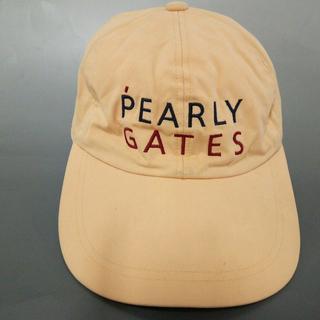 パーリーゲイツ(PEARLY GATES)のパーリーゲイツ キャップ FR 刺繍 コットン(キャップ)