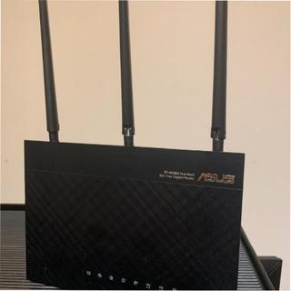 エイスース(ASUS)のASUS RT-AC68U WIFI ルーター(PC周辺機器)