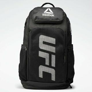 リーボック(Reebok)のreebok UFC backpack ブラック 黒 バックパック(バッグパック/リュック)