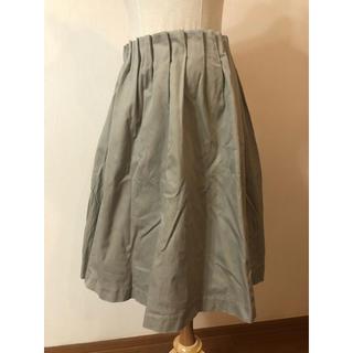 シップス(SHIPS)のSHIPSカーキスカート(ひざ丈スカート)