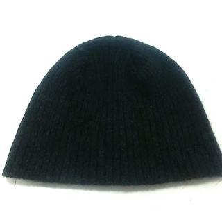 ポロラルフローレン(POLO RALPH LAUREN)のポロラルフローレン ニット帽 ダークグレー(ニット帽/ビーニー)
