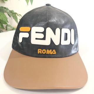 フェンディ(FENDI)のフェンディ ロゴ キャップ 帽子(キャップ)