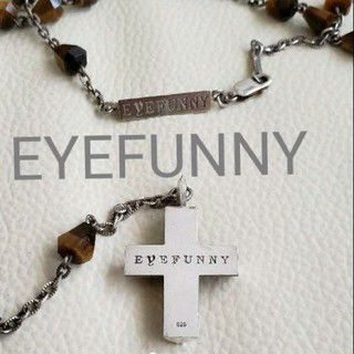 アイファニー(EYEFUNNY)の販売済みEYEFUNNY クロストップシルバー ネックレス(ネックレス)