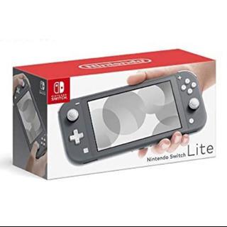 ニンテンドースイッチ(Nintendo Switch)のnintend switch lite グレー(携帯用ゲーム機本体)