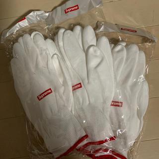 シュプリーム(Supreme)のsupreme 手袋 グローブ 軍手 ノベルティ てぶくろ シュプリーム (手袋)