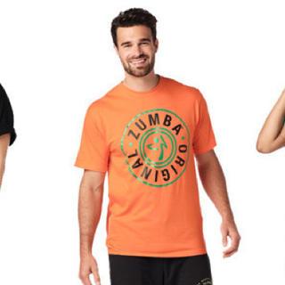ズンバ(Zumba)のzumba Tシャツ オレンジ ズンバウェア ハロウィン(Tシャツ/カットソー(半袖/袖なし))