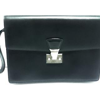 カルティエ(Cartier)のカルティエ セカンドバッグ パシャ 黒(セカンドバッグ/クラッチバッグ)