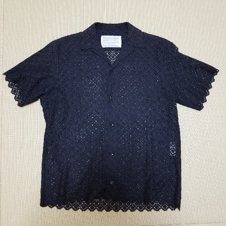 カラー(kolor)のryo matsumoto  着用 kolor 15ss シャツ レース 半袖(シャツ)