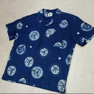 キャリー(CALEE)のCALEE アロハシャツ  藍染めシャツ(シャツ)