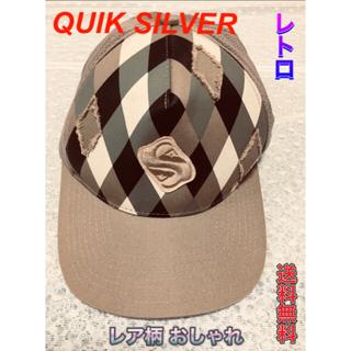 クイックシルバー(QUIKSILVER)のQUIK SILVER クイックシルバー レディース キャップ レア柄(キャップ)