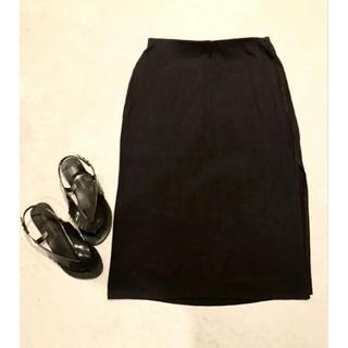 オールドネイビー(Old Navy)のOLD NAVY 黒スカート(その他)