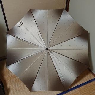 サンローラン(Saint Laurent)の美品‼️ イヴ・サンローランの長傘 ✨ゴールド色✨ (傘)